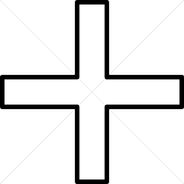 Simple Equal Sided Cross