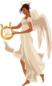 Female Angel Clipart