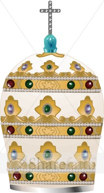 Ceremonial Papal Hat