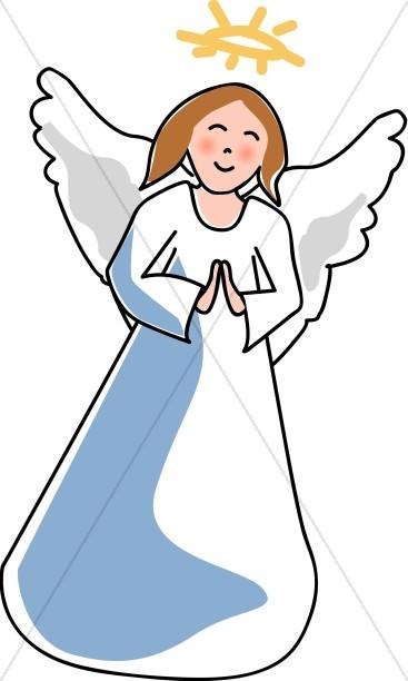 Friendly Angel Child