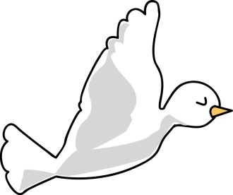 Cartoon Dove Image
