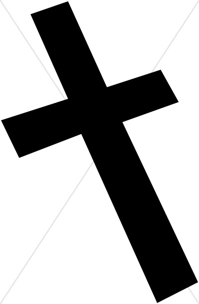Black Cross Askew