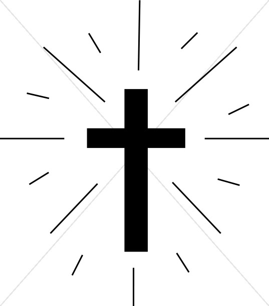 Simple Cross Line Art : Cross clipart graphics images sharefaith