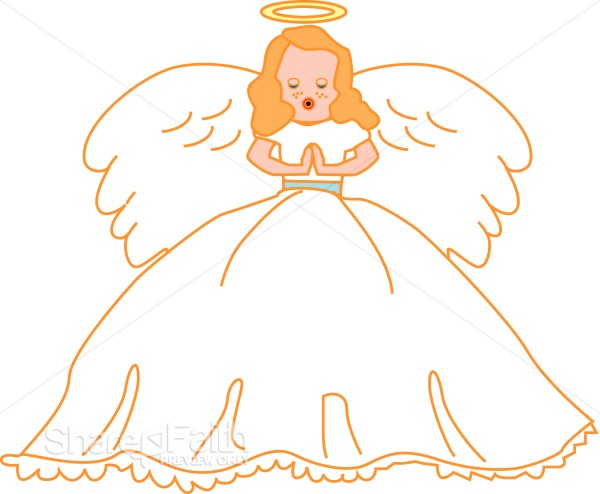 Singing Angel Clipart