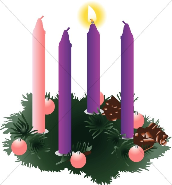 Christian Symbols Clipart for Advent