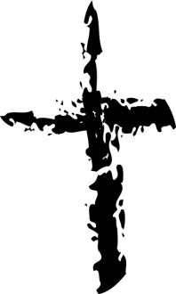 Disintegrating Cross from Good Friday