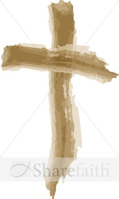 Rough Wooden Cross