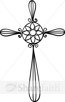 Decorative Cross Clipart