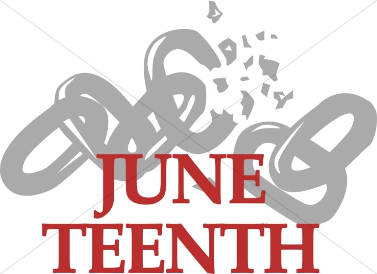 June Teenth with Breaking Chain