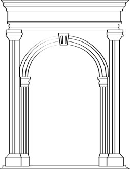 Stone Arch in Roman Architecture
