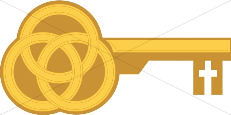 Trinity as Key (gold)