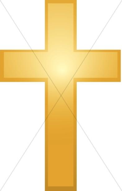 Gold Cross Clipart