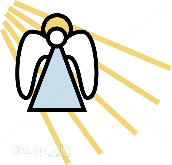 Simple Angel Clipart