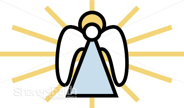 Angel Clipart for Christmas