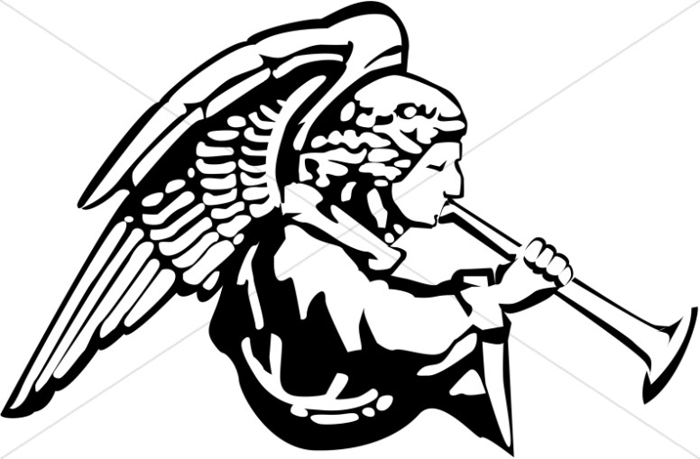 Musical Angel Clipart