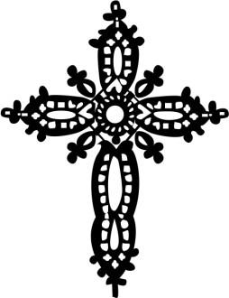 Ornamented Cross Design