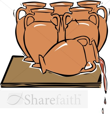 Jesus Turns Water Into Wine New
