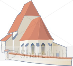 Church in Earth Colors