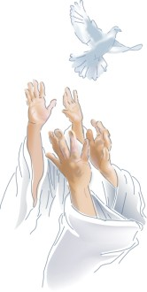 Hands Release the Holy Spirit