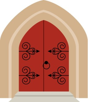 Cathedral Style Church Doors