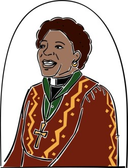 African American Female Reverend