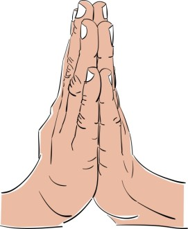 The Simple Prayer Hands