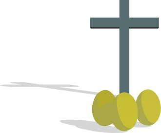 Cross with Three Eggs