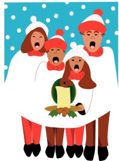 Christmas Carolers