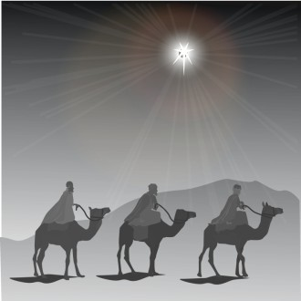 Three Magi and the Natal Star