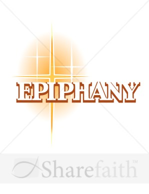 Epiphany and Gold Natal Star | Epiphany Clipart