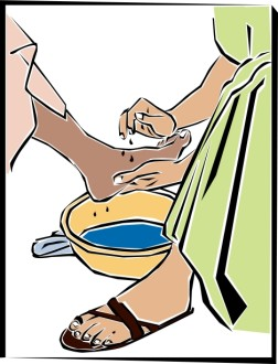 Foot Washing for Maundy Thursday