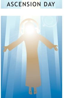 Picture of Jesus Ascending Clipart