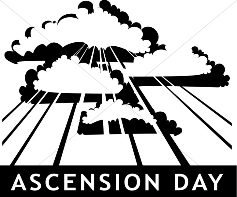 Ascension Day Church Clipart