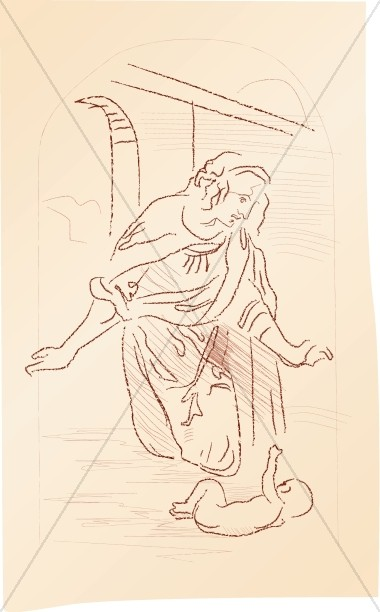 Mary and Baby Jesus by Da Vinci