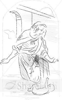 Da Vinci Sketch of the Birth of Christ