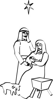 Jesus, Mary and Joseph Nativity Story
