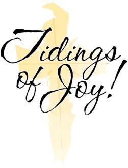 Tidings Of Joy Golden Cross
