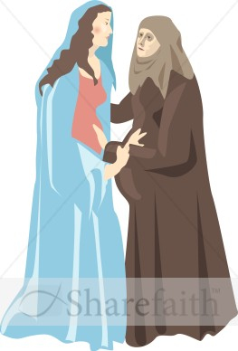 Virgin Mary 39 s Visitation to Elizabeth