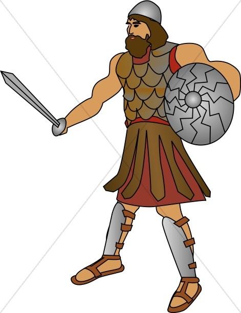 Goliath the Philistine Giant