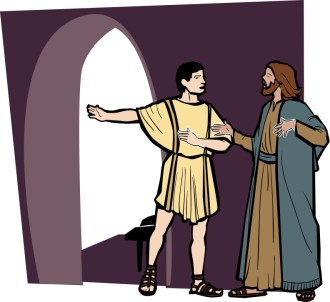 Centurion Talks with Jesus
