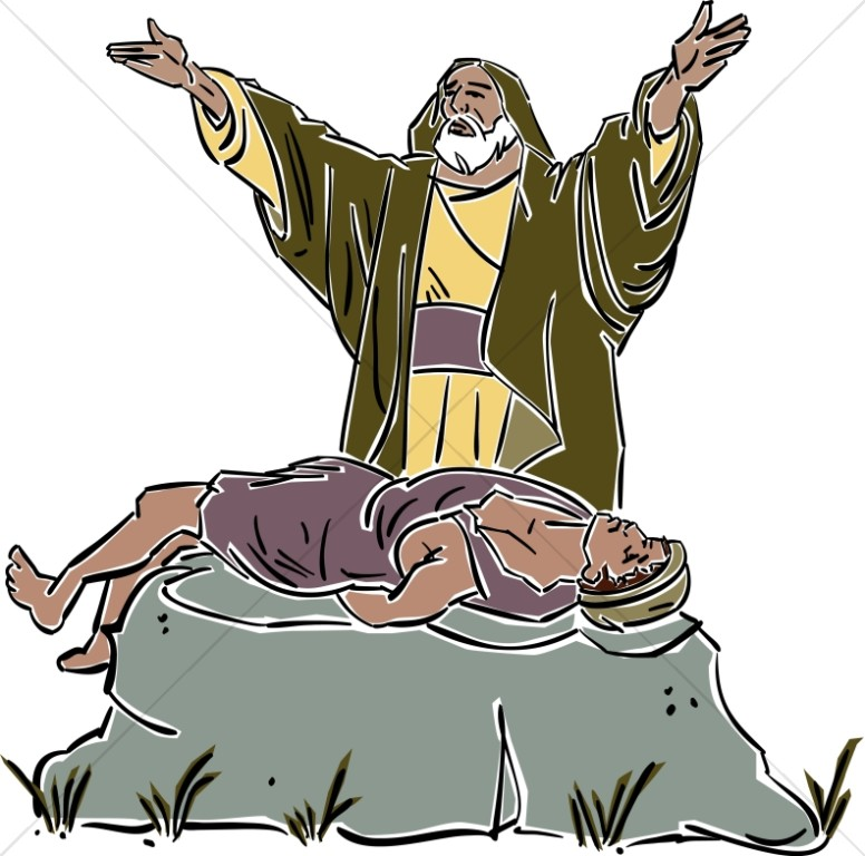 Abraham Sacrifices Isaac on the Mount
