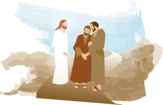 Risen Jesus Appears on the Road to Emmaus
