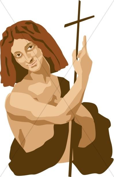 Painting of John the Baptist