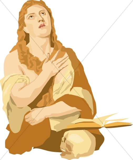 Mary Magdalene in the Presence of Jesus
