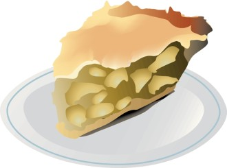 Slice of Homemade Apple Pie