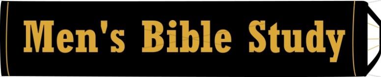 Men's Bible Study on Book