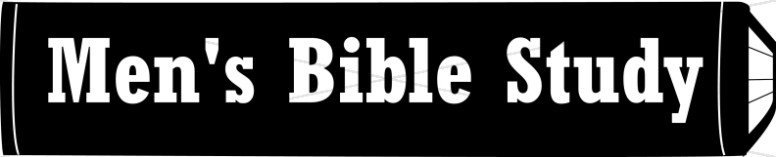 Black and White Men's Bible Study on Book