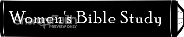 Black and white Women's Bible Study