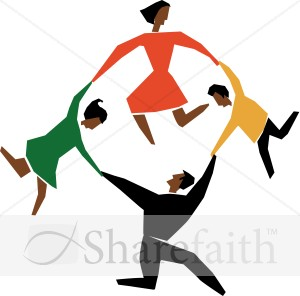 Cut Out Circle Dance
