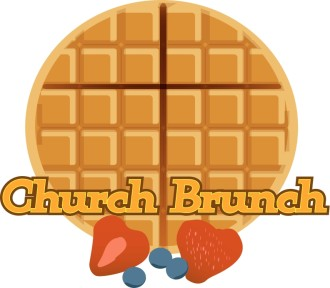 Church Brunch of Waffles and Fruit
